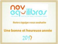Novéquilibres - Nos voeux pour 2017
